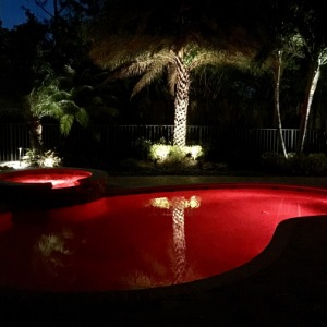 Professional Water Feature Lighting Company in Jupiter, FL